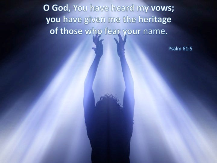 Image result for Psalm 61
