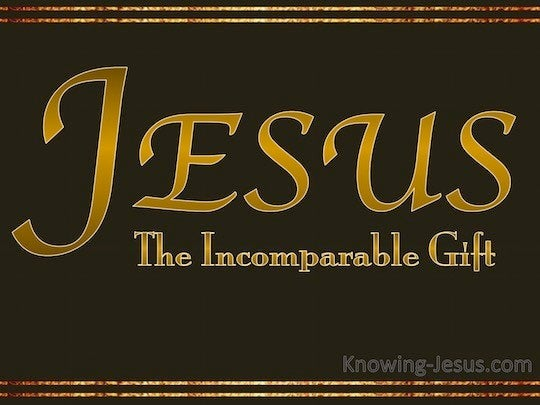 2 Corinthians 9:15 Thanks be to God for His indescribable gift!