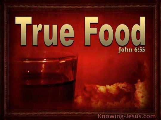 John 6:55