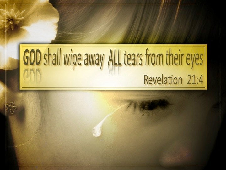 revelation 214 and he will wipe away every tear from